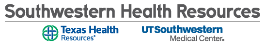 Southwestern Health Resources logos - Texas Health Resources and UTSouthwestern Medical Center